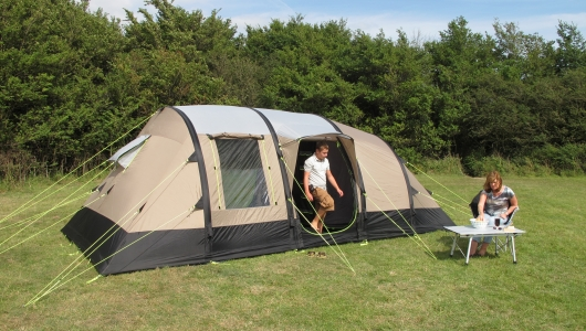 K&a Southwold 4 + 2 & Kampa AirFrame Southwold 4 + 2 inflatable tent - compare ...