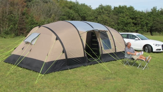 K&a Southwold 8 & Kampa Southwold 8 inflatable tent - compare AirFrame price ...