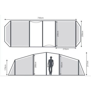 Berghaus Air 6 dimensions